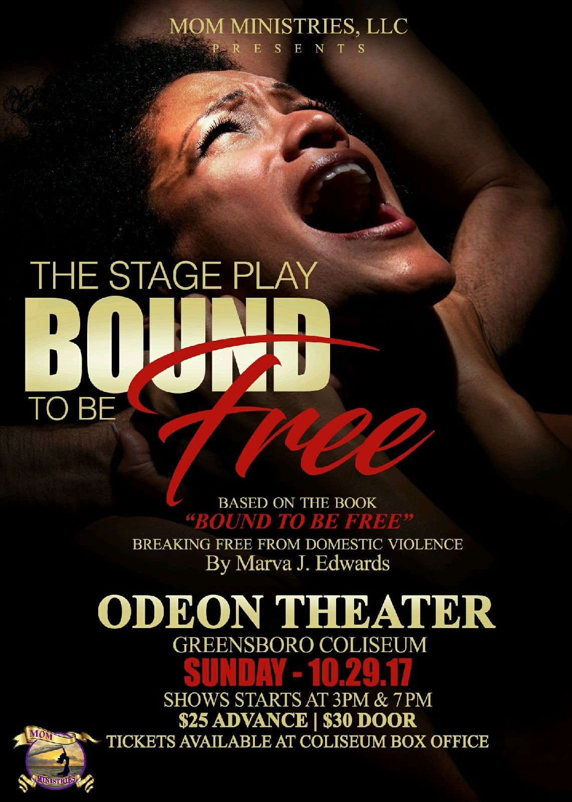 Bound To Be Free Casting Flyer
